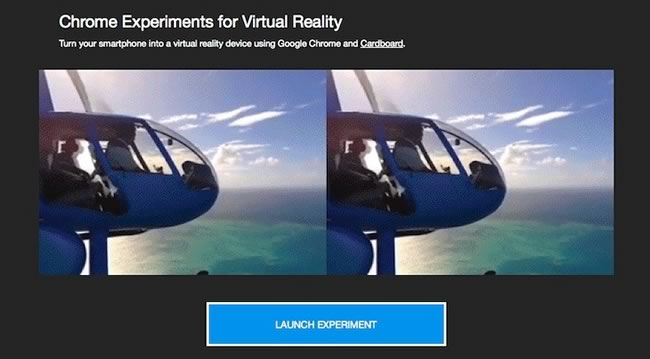 Virtual-reality-experiments
