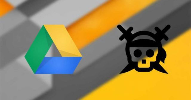 google drive piracy