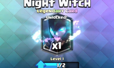 night witch clash royale