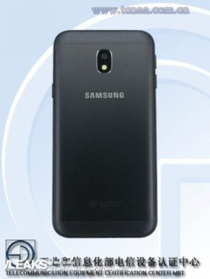 samsung galaxy j3 Back