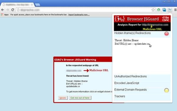 Browser JSGuard