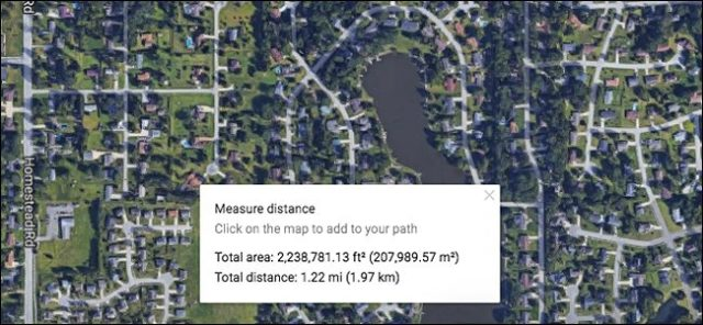 gmap measure distance 4