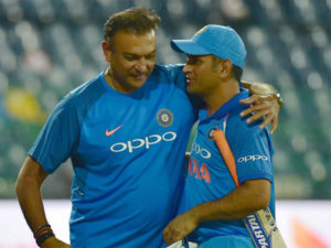 Ravi Shastri: Dhoni at 36 is fitter than bunch of 26-year-olds. 1