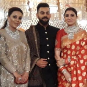 Check out pictures from Anushka Sharma - Virat Kohli reception! 6