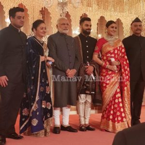 Check out pictures from Anushka Sharma - Virat Kohli reception! 3
