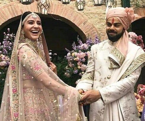 Daring Virat Kohli Married Anushka Sharma - Watch Pics