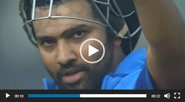 Rohit Sharma Celebrating his double century