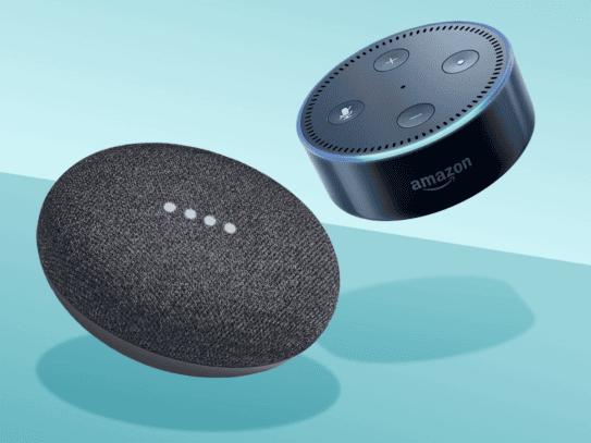 Amazon Echo Dot vs Google Home Mini 2
