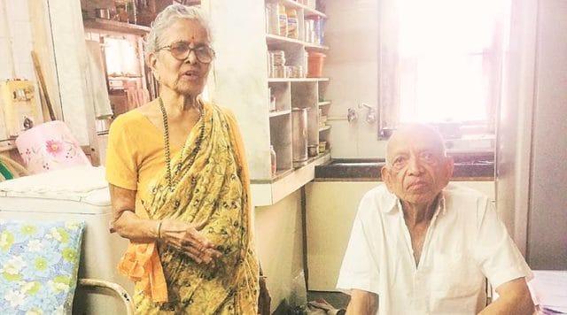 Narayan and Iravati Lavate