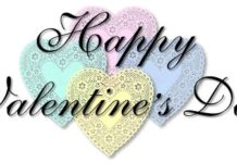 happy valentine day related words