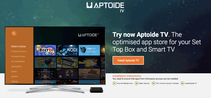 Aptoide Reviews, Install Aptoide