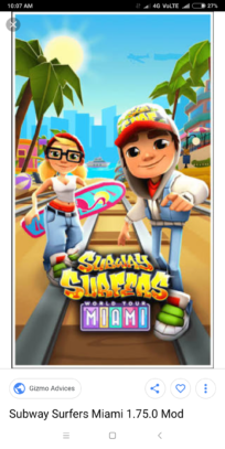Subway Surfer unlimited coins and all characters unlocked