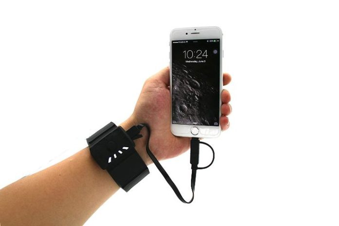 wearable battery power