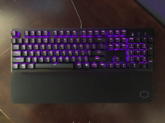 Cooler Master Gaming keyboard