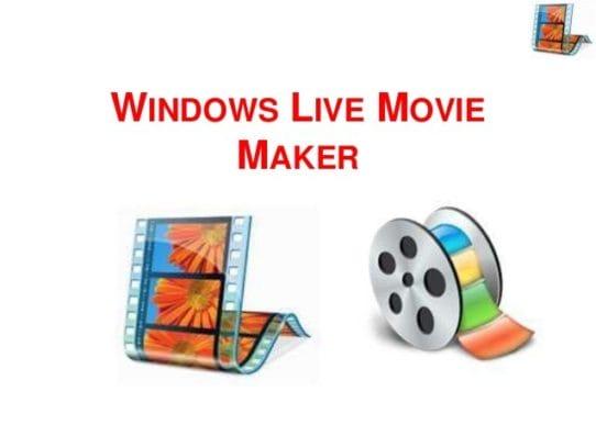 Window Movie Maker software