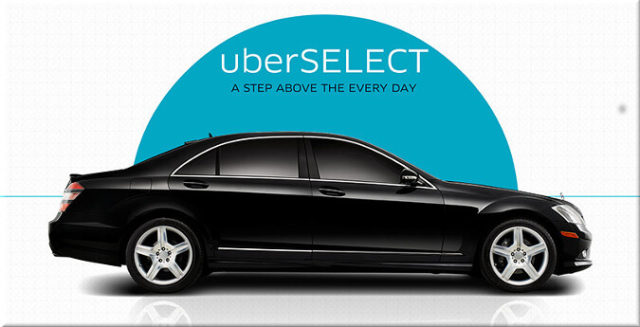 Difference Between Uberx, Uberselect and Uberblack Cars 1