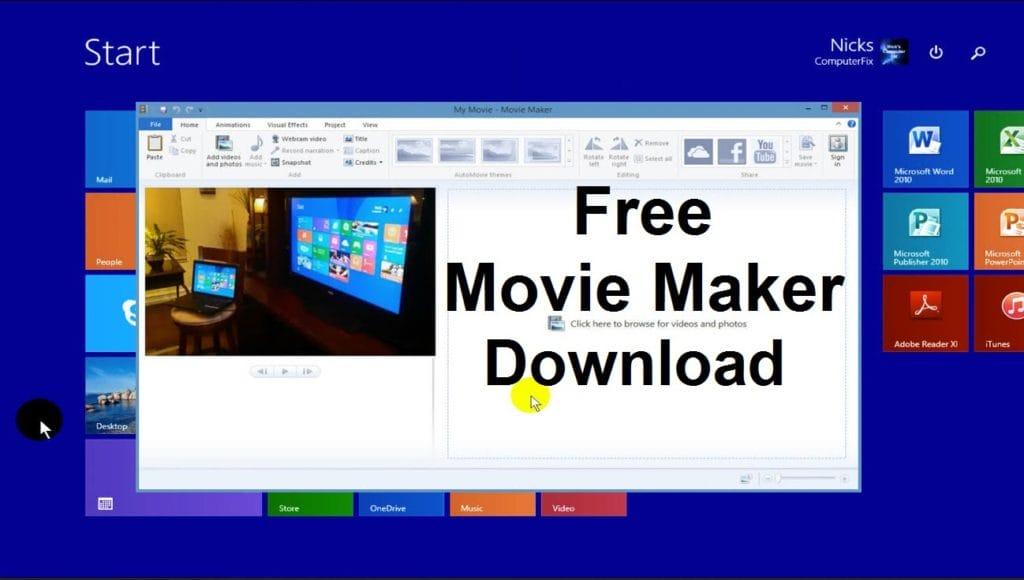 movie maker download windows 10 2018