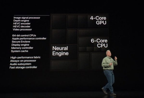 Tim Cook spent some time at the launch event for this year's iPhone XS and XS Max discussing the new AI-related features – including supercharged AI hardware now present in both phones.
