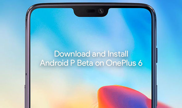 Android 9.0 P beta update on OnePlus 6