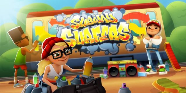 download Subway Surfers for android (Unlimited Coins and keys)