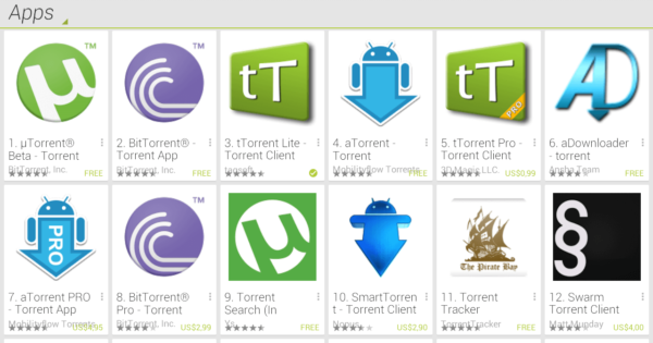 top torrent client android app