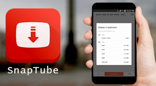 What security problems may occur if you download Snaptube apk?