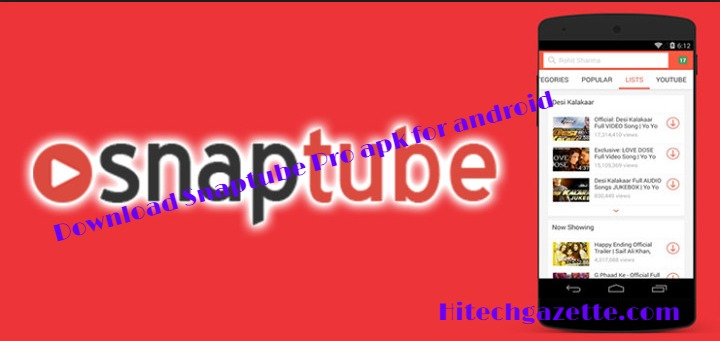 Snaptube pro apk latest version download for android