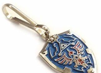 Image result for Legend of Zelda Hylian Triforce Mini Shield Jacket Backpack ZIPPER