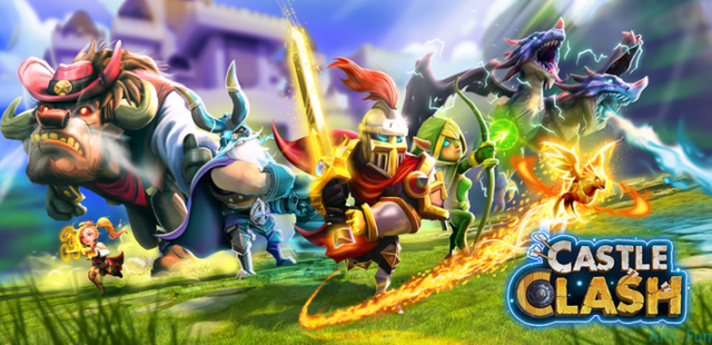 How to download castle clash apk 1.5.1 for PC