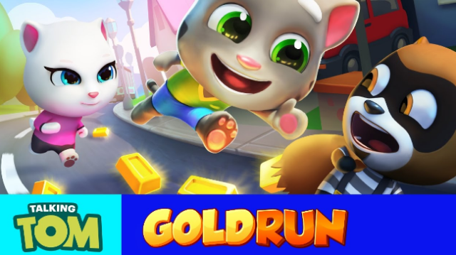 Talking Tom Gold Run 3.1.0.171 download for Android