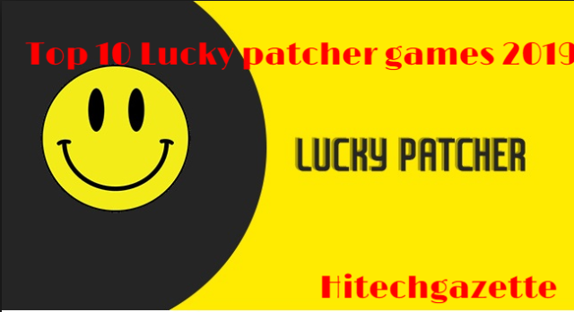 games you can hack with lucky patcher