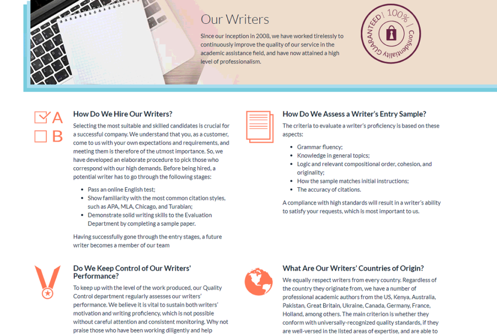 AdvancedWriters.com: Academic Writing Service from Experts 1