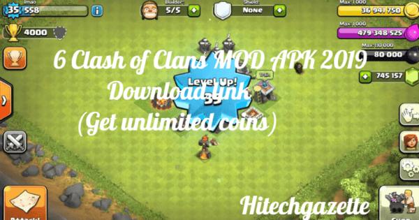 clash of clans mod apk ios