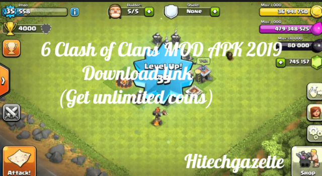 clash of clans game unlimited download