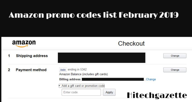 Amazon gift card code (promo codes) February 2019: Get Upto 90% off