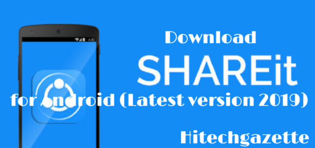 How to download SHAREit Apk On Android Device