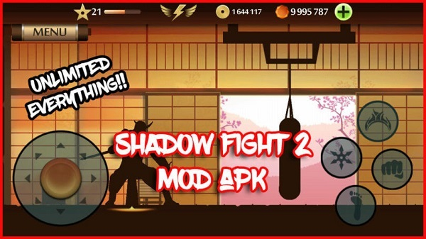 Shadow Fight 2 Mod apk Unlimited money and bonus points