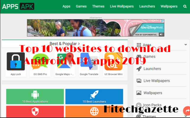 Top 10 websites to download Android APK apps 2019 1