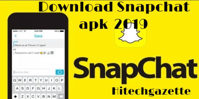 Download Snapchat apk 2019