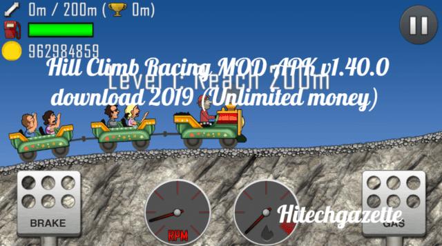 install Hill Climb Racing Mod Apk: Unlimited Money/Coins