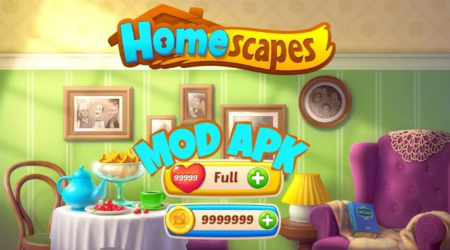 Homescapes Hack: Get Unlimited money and gems