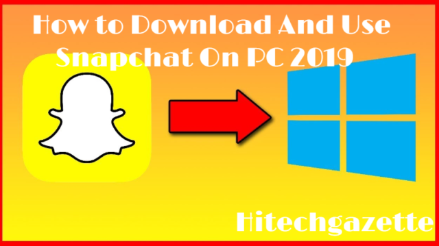How to download and install Snapchat on PC