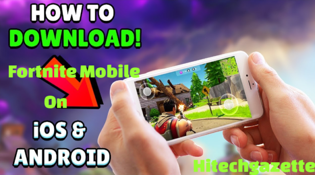 How to install Fortnite mobile for iOS and Android latest version 2019