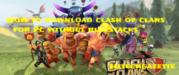 clash of clans for pc windows xp without bluestacks