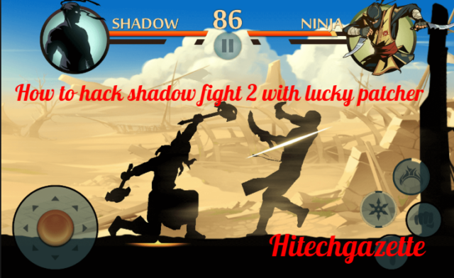 Hack Shadow Fight 2: Using Lucky Patcher