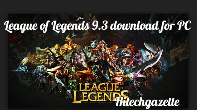 league of legends download pc