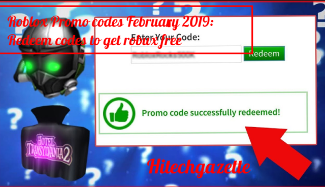 How do you redeem a promotion code on Roblox?