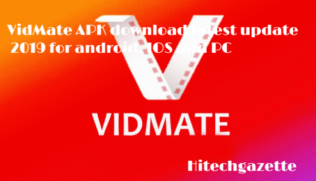 VidMate APK download 2019 with bugs fixes