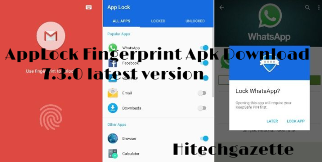 How to download and install Applock Fingerprint Apk on Android