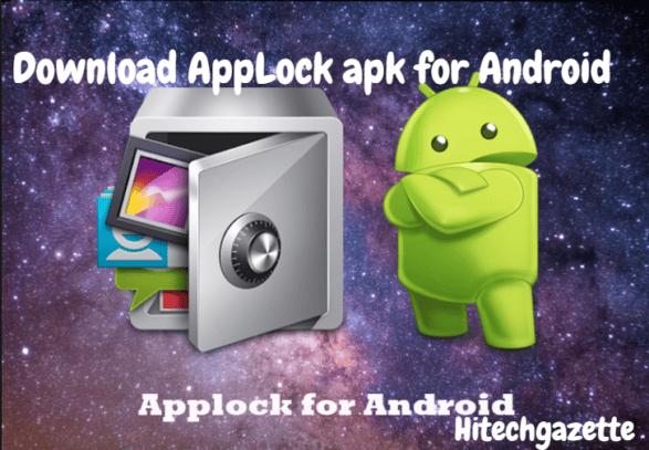 Download AppLock latest 2 8 10 apk for Android | Hi Tech Gazette